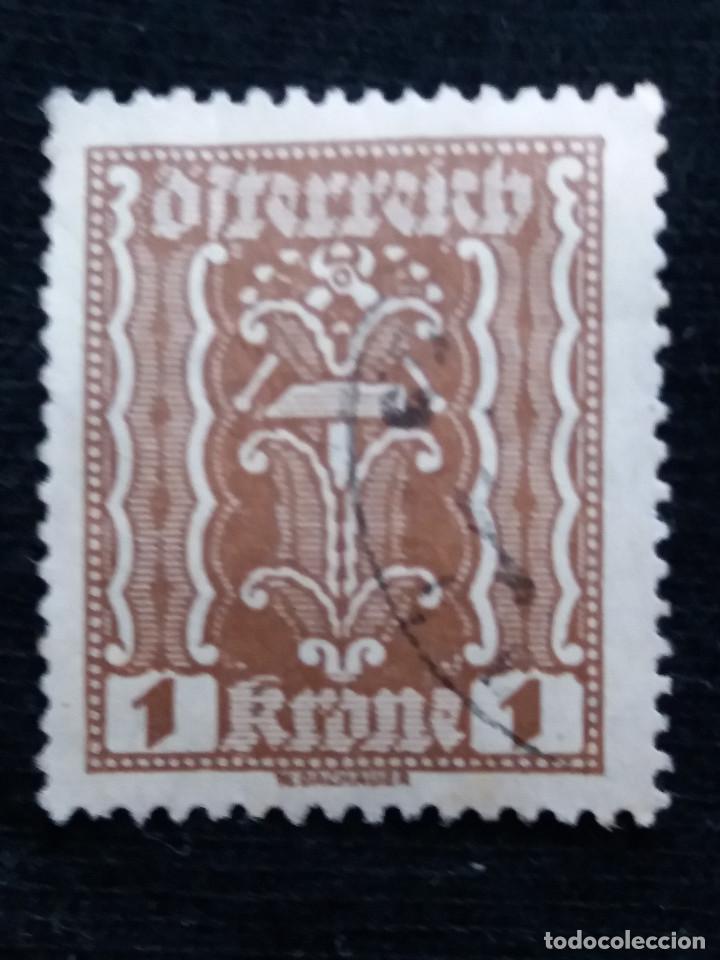 AUSTRIA, OSTERREICH, 1 KRONE, AÑO 1922. NUEVO (Sellos - Extranjero - Europa - Austria)