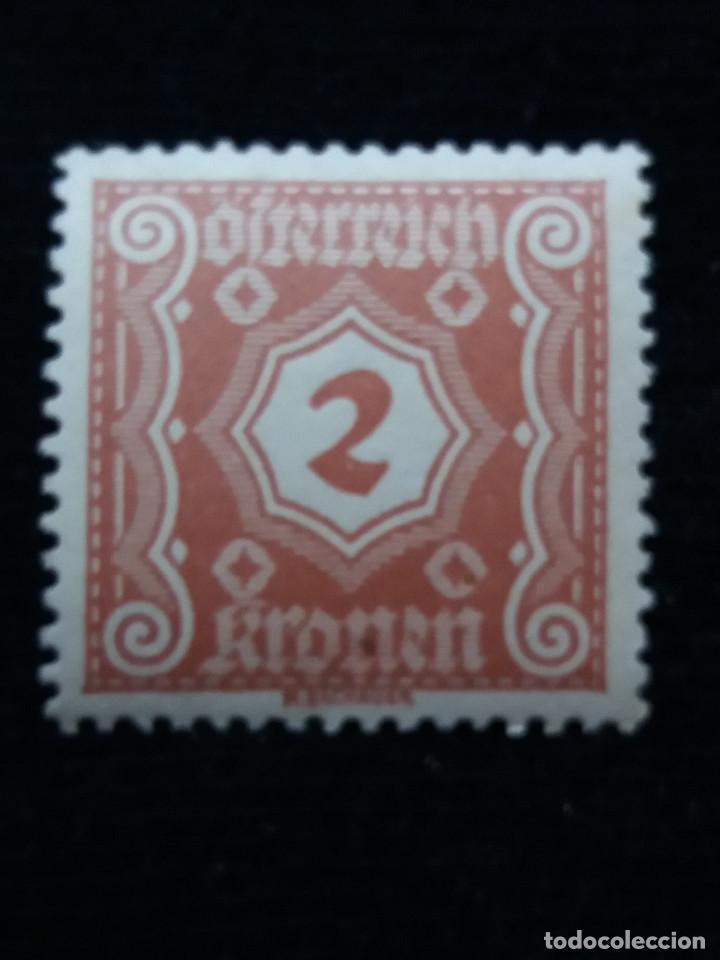 AUSTRIA, OSTERREICH, 2 KRONEN, AÑO 1923. NUEVO (Sellos - Extranjero - Europa - Austria)