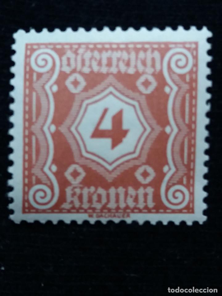 AUSTRIA, OSTERREICH, 4 KRONEN, AÑO 1923. NUEVO (Sellos - Extranjero - Europa - Austria)