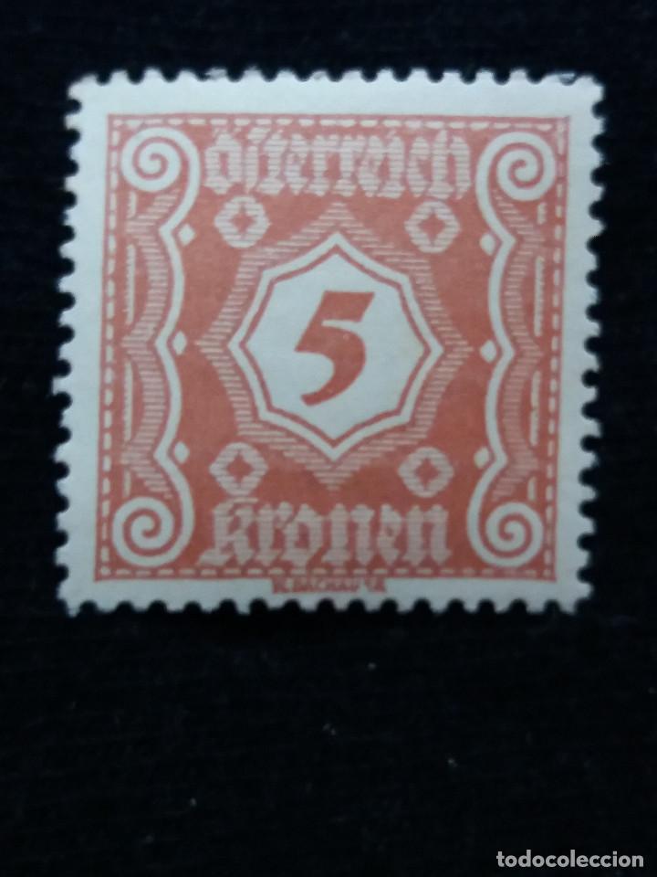 AUSTRIA, OSTERREICH, 5 KRONEN, AÑO 1923. NUEVO (Sellos - Extranjero - Europa - Austria)