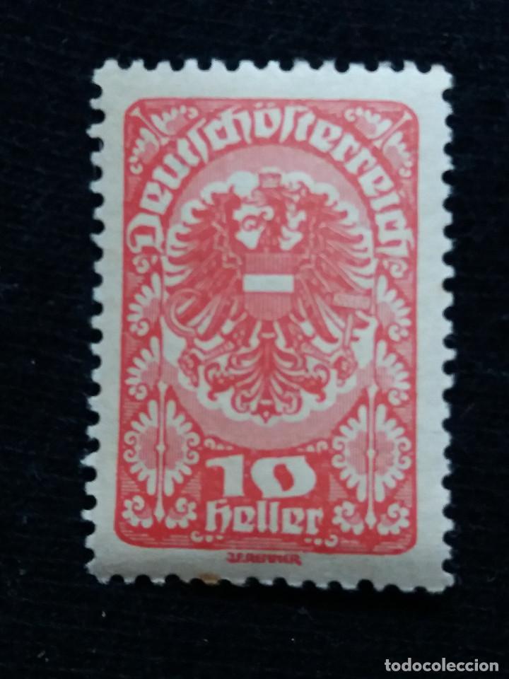 AUSTRIA, OSTERREICH, 10 HELLER, AÑO 1920. NUEVO (Sellos - Extranjero - Europa - Austria)