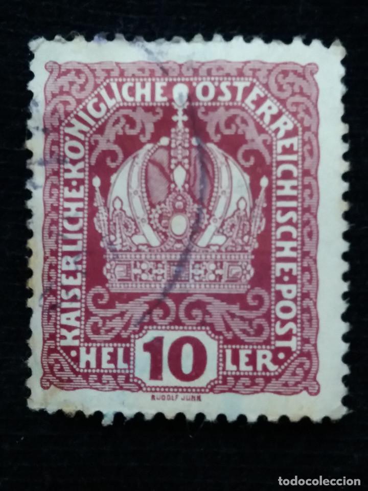 AUSTRIA, OSTERREICH, 10 HELLER, PORTO, AÑO 1916. . (Sellos - Extranjero - Europa - Austria)