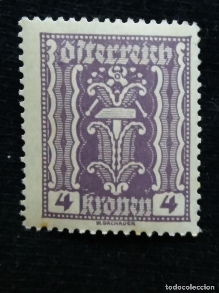 AUSTRIA, OSTERREICH, 4 KRONEN, AÑO 1922. NUEVO (Sellos - Extranjero - Europa - Austria)