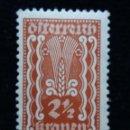 Sellos: AUSTRIA, OSTERREICH, 2,1/2, KRONEN, AÑO 1923.. Lote 165523846
