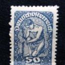 Sellos: AUSTRIA, OSTERREICH, 50 HELLEN, AÑO 1919. NUEVO. Lote 165524306