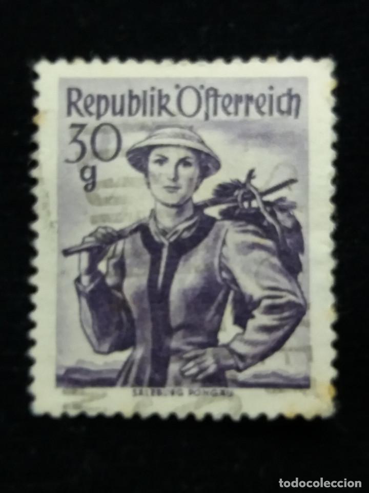 AUSTRIA, OSTERREICH, 30 G, TRAJES REGIONALES, AÑO 1948. NUEVO (Sellos - Extranjero - Europa - Austria)