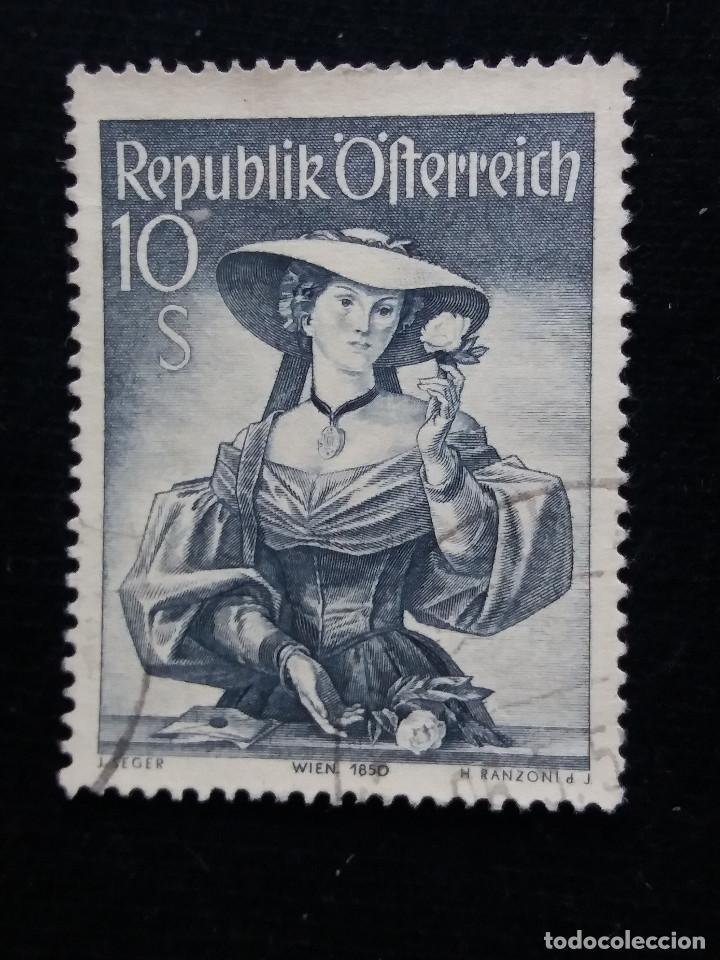 AUSTRIA, OSTERREICH, 10 S, TRAJES REGIONALES, AÑO 1948. NUEVO (Sellos - Extranjero - Europa - Austria)
