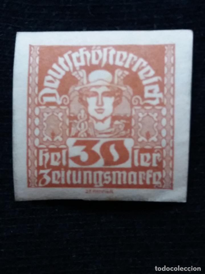 AUSTRIA ALEMAN, DEUTSCH OSTERREICH, 30 HELLER, AÑO 1919. NUEVO. (Sellos - Extranjero - Europa - Austria)