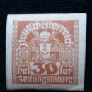 Sellos: AUSTRIA ALEMAN, DEUTSCH OSTERREICH, 30 HELLER, AÑO 1919. NUEVO.. Lote 165531390