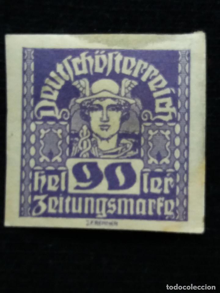 AUSTRIA ALEMAN, DEUTSCH OSTERREICH, 90 HELLER, AÑO 1919. NUEVO. (Sellos - Extranjero - Europa - Austria)