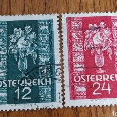 Sellos: AUSTRIA : N°515/16 USADOS, ROSA'S.. Lote 165713350