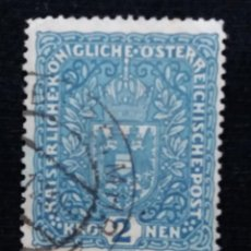 Sellos: AUSTRIA, OSTERREICH, 2 KRONEN, AÑO 1918.. Lote 165780946