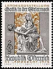 Nueva F Austria 1978 Sello 1407 Música Lehar