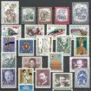 Sellos: AUSTRIA - 1975 - MICHEL 1474/1505** MNH (AÑO COMPLETO) (VALOR DE CATALOGO.- 36.00€). Lote 166939432