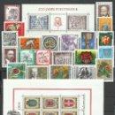 Sellos: AUSTRIA - 1976 - MICHEL 1506/1539** MNH (AÑO COMPLETO) (VALOR DE CATALOGO.- 28.00€). Lote 166941789
