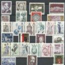 Sellos: AUSTRIA - 1970 - MICHEL 1320/1352** MNH (AÑO COMPLETO) (VALOR DE CATALOGO.- 15.00€). Lote 166942472