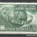 Sellos: AUSTRIA - 1955 - MICHEL 1022* MH. Lote 166944504