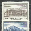 Sellos: AUSTRIA - 1955 - MICHEL 1020/1021* MH. Lote 166944524