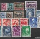 Sellos: AUSTRIA LOTE SELLOS USADOS - 6/6. Lote 168998892