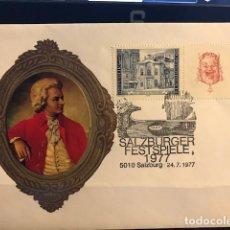 Sellos: SPD SALZBURGER FESTSPIELE 1977 (LA FIESTA DEL JUEGO) . Lote 169233288