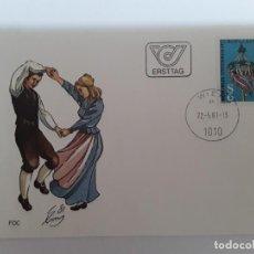 Sellos: SOBRE MATASELLOS ESPECIAL AUSTRIA TEMA EUROPA. Lote 171997944