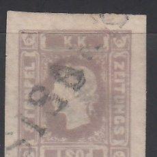 Sellos: AUSTRIA, PERIÓDICOS, 1858-59 YVERT Nº 6 . Lote 174022355