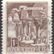 Sellos: AUSTRIA - UN SELLO - IVERT:#AT-954BA - ***E D I F I C I O S*** - AÑO 1970 - USADO. Lote 175872404