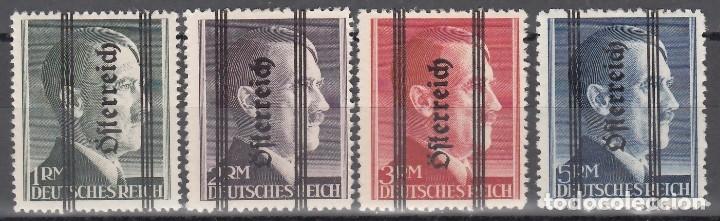 AUSTRIA, 1945 YVERT Nº 572, 573, 574, 575, /*/, ADOLF HITLER (Sellos - Extranjero - Europa - Austria)
