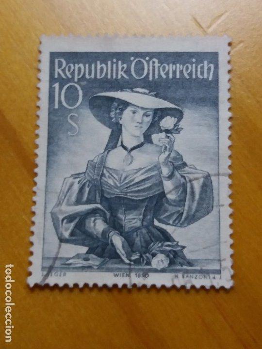 Sellos: AUSTRIA, OSTERREICH, 10 S, TRAJES REGIONALES, AÑO 1948. NUEVO - Foto 3 - 165524858