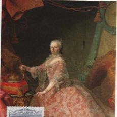 Sellos: TARJETA MÁXIMA AUSTRIA. EMPERATRIZ Mª TERESA. Lote 178850953