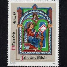 Sellos: AUSTRIA 2266** - AÑO 2003 - AÑO DE LA BIBLIA. Lote 180113631