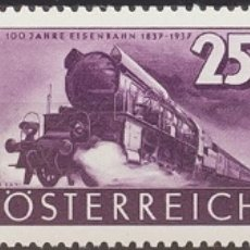 Sellos: AUSTRIA. MNH **YV 503/05. 1937. SERIE COMPLETA. MAGNIFICA. YVERT 2014: 17 EUROS. REF: 57614. Lote 183138320