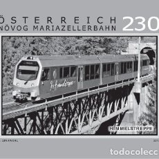 Sellos: AUSTRIA 2019 - MARIAZELL RAILWAY – HIMMELSTREPPE BLACK PROOF MNH. Lote 183315928
