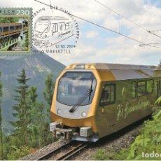 Sellos: AUSTRIA 2019 - MARIAZELL RAILWAY – HIMMELSTREPPE MAXIMUM CARD. Lote 183322322