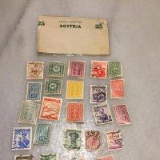 Sellos: ANTIGUO LOTE DE SELLO / SELLOS DE AUSTRIA MATASELLADOS, VARIOS AÑOS 50-60-70-80-90. Lote 188608557