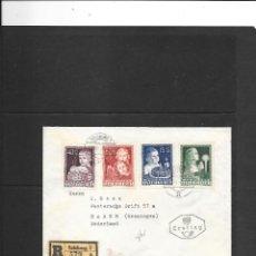 Sellos: AUSTRIA BUEN SOBRE DE PRIMER DIA DE CIRCULACION CIRCULADO CERIFICADO A HOLANDA. Lote 190812658