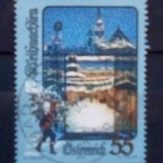 Sellos: AUSTRIA RECIENTE NAVIDAD SELLO USADO €. Lote 190921516