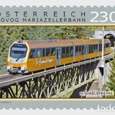 Sellos: AUSTRIA 2019 - MARIAZELL RAILWAY – HIMMELSTREPPE MNH. Lote 191127408