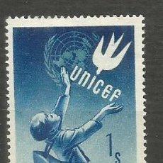 Sellos: AUSTRIA YVERT NUM. 777 ** SERIE COMPLETA SIN FIJASELLOS UNICEF. Lote 193007146