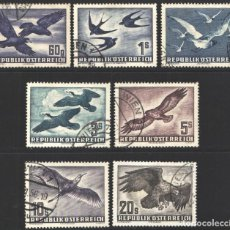 Sellos: AUSTRIA, 1950-53 YVERT Nº 54 / 60 . Lote 194726833