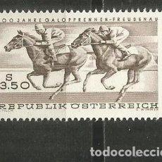 Sellos: AUSTRIA YVERT NUM. 1095 ** SERIE COMPLETA SIN FIJASELLOS. Lote 195540433