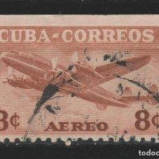 Sellos: LOTE G-SELLO CUBA AEREO SIN DENTAR ARRIBA. Lote 195555331