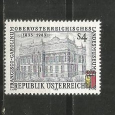 Sellos: AUSTRIA YVERT NUM. 1587 ** SERIE COMPLETA SIN FIJASELLOS. Lote 195577080