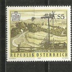 Sellos: AUSTRIA YVERT NUM. 1815 ** SERIE COMPLETA SIN FIJASELLOS. Lote 278320838