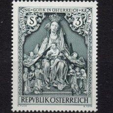 Sellos: AUSTRIA 1072** - AÑO 1967 - EXPOSICION DE ARTE GOTICO, KREMS. Lote 226166840