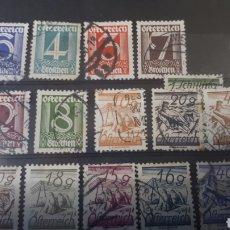Sellos: SELLOS USADOS DE AUSTRIA C121. Lote 197570217