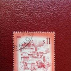 Selos: AUSTRIA - VALOR FACIAL 11 S - PAISAJES: ENNS - AÑO 1976 - YV 1349. Lote 198071111