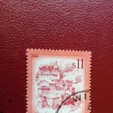 Selos: AUSTRIA - VALOR FACIAL 11 S - PAISAJES: ENNS - AÑO 1976 - YV 1349. Lote 198071208