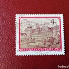Selos: AUSTRIA - VALOR FACIAL 4 S - AÑO 1984 - ABADIA DE STAMS - YV 1620 - MI 1791. Lote 198071642