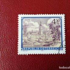 Selos: AUSTRIA - VALOR FACIAL 4,50 S - AÑO 1984 - ABADIA DE SCHLAGL - YV 1607 . Lote 198071782